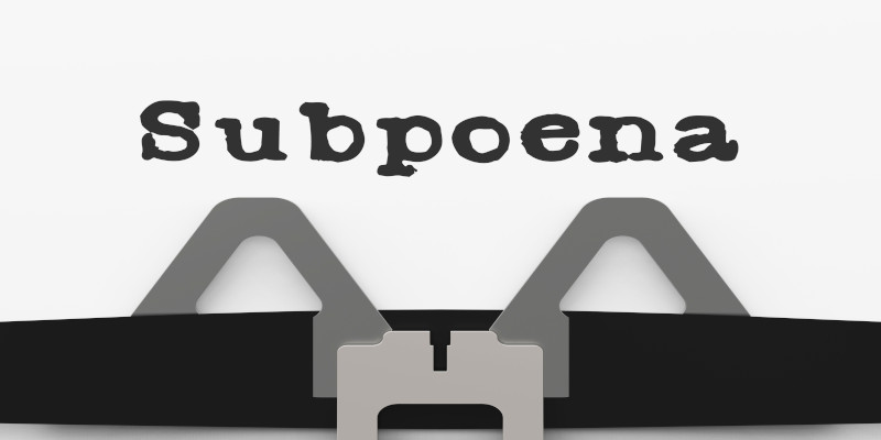 Rules for Issuing Subpoenas in Texas